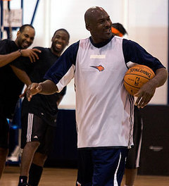 The Bobcats secretly want MJ to return to the court. (NBAE/Kent Smith)