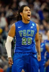 Sherwood Brown and FGCU became the first 15-seed ever to crash the Sweet 16. (USA Today Sports)