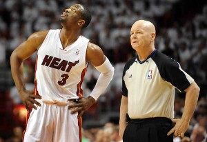Joey Crawford and the Heat just didn't have enough to take down the Pacers in Game 4.
