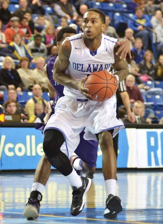Usher leads the Hens in scoring at 19.7 ppg. (Photo: Mark Jordan/CityofBasketballLove.com)