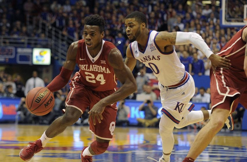 Buddy Hield went off against Kansas in a triple-overtime classic Monday night. (John Rieger-USA Today Sports)