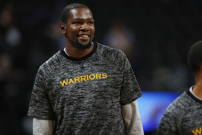 60c2056faee9 Golden State Warriors forward Kevin Durant (35) in the first half of an NBA