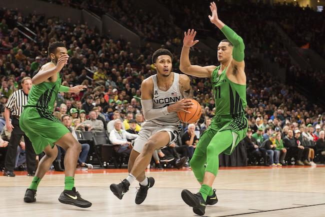 UConn Oregon Basketball
