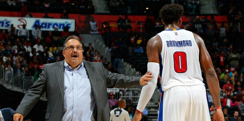 detroit pistons head coach stan van gundy