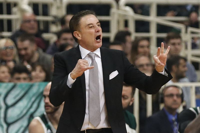 cad43df4f04 How is Rick Pitino doing coaching at Panathinaikos in Greece ...